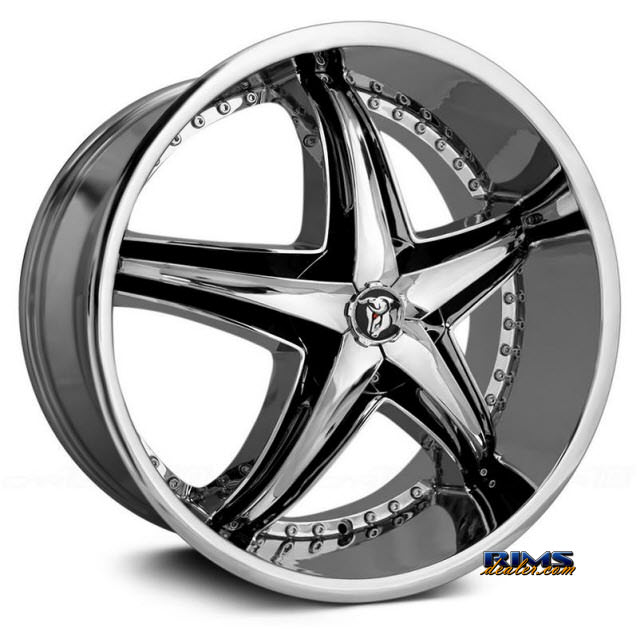 Pictures for Diablo Wheels REFLECTION Chrome