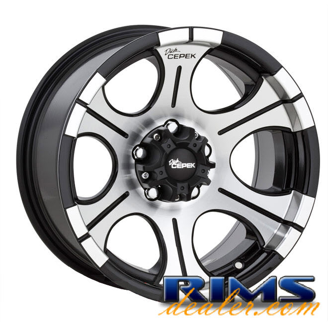 Pictures for Dick Cepek DC-2 (5-Lug) machined w/ black