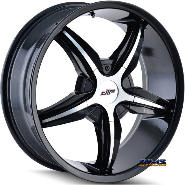Pictures for Dip Rims DIPLOMAT D35 Black Gloss w/ Machined