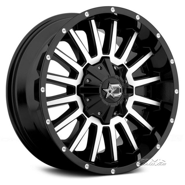 Pictures for DROPSTARS OFF-ROAD 646MB Machined w/ Black