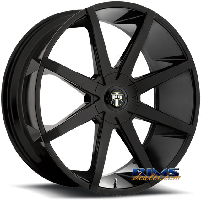 Pictures for DUB S110 - Push black gloss