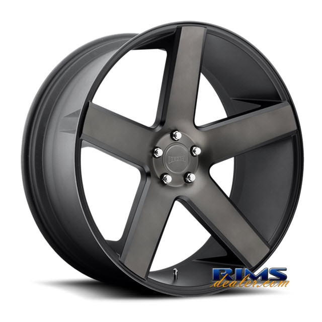Pictures for DUB S116 - Baller black flat w/ machined