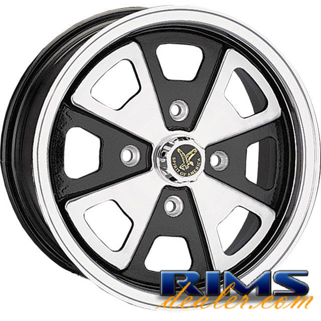 Pictures for EAGLE ALLOYS Series 073 machined w/ black