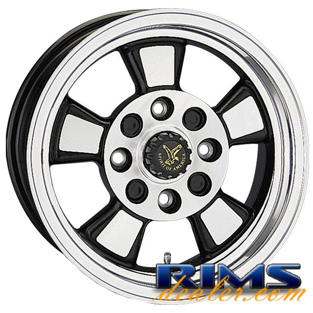 Pictures for EAGLE ALLOYS Series 076 machined w/ black