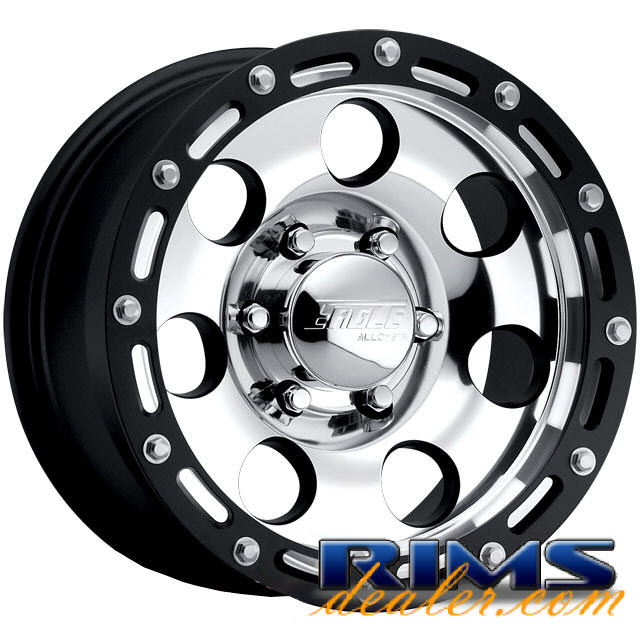 Pictures for EAGLE ALLOYS Series 137 black gloss