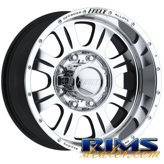 Pictures for EAGLE ALLOYS Series 140 machined w/ silver