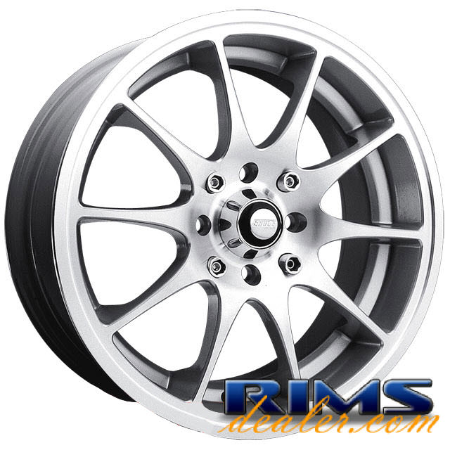 Pictures for EAGLE ALLOYS Series 166 silver gloss