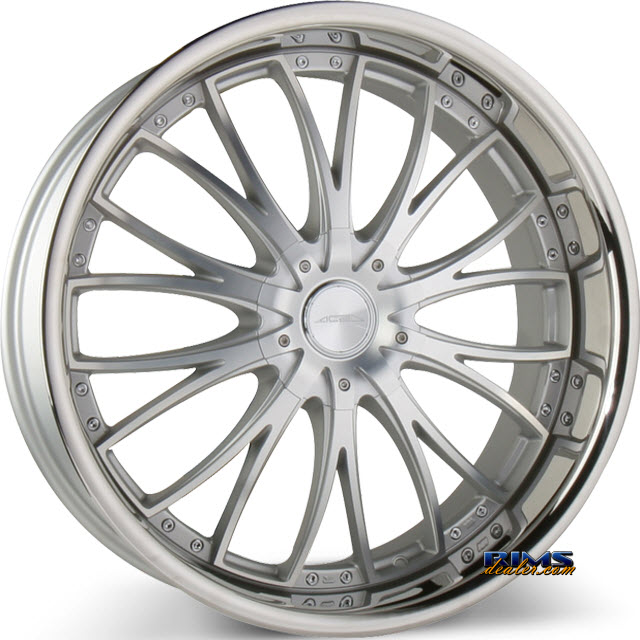 Pictures for Ace Alloy EMINENCE D709 - Stainless Steel Lip machined w/ silver