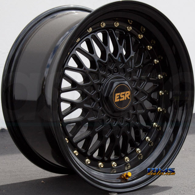 Pictures for ESR Wheels SR03 Black Gloss