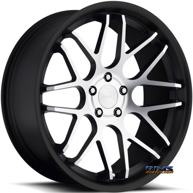 Pictures for euroTEK Wheels UO6 machined w/ black