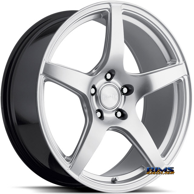 Pictures for euroTEK Wheels UO8 Hypersilver