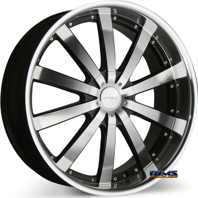 Pictures for Ace Alloy EXECUTIVE C853 machined w/ black machined lip