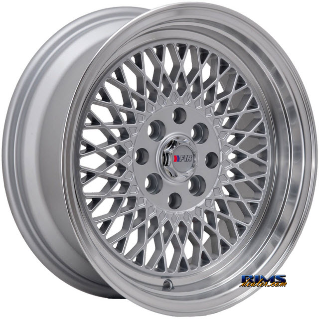 Pictures for F1R Wheels F01 Machined w/ Silver