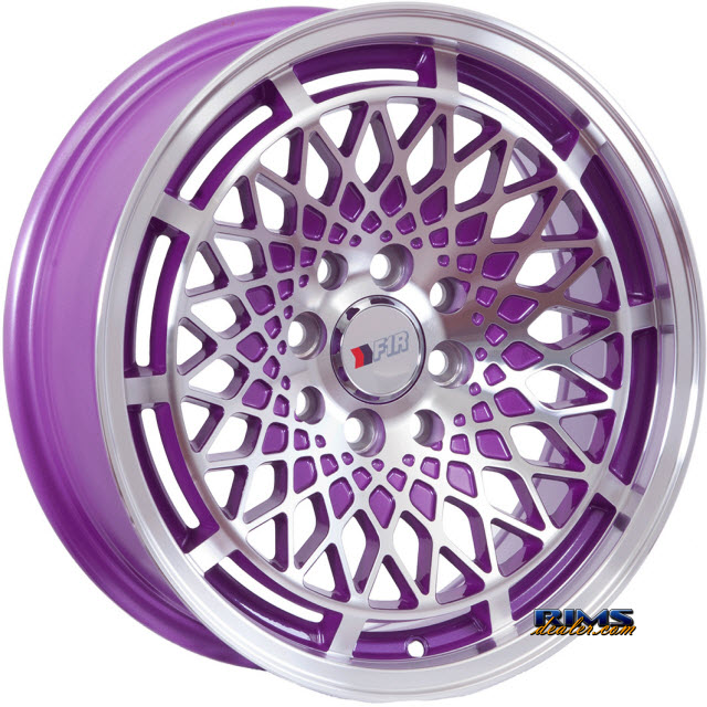 Pictures for F1R Wheels F06 Purple