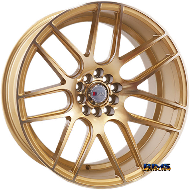 Pictures for F1R Wheels F18 Gold Flat