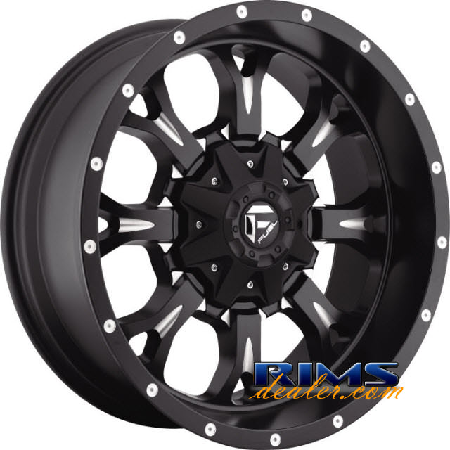 Pictures for Fuel Off-Road KRANK black flat