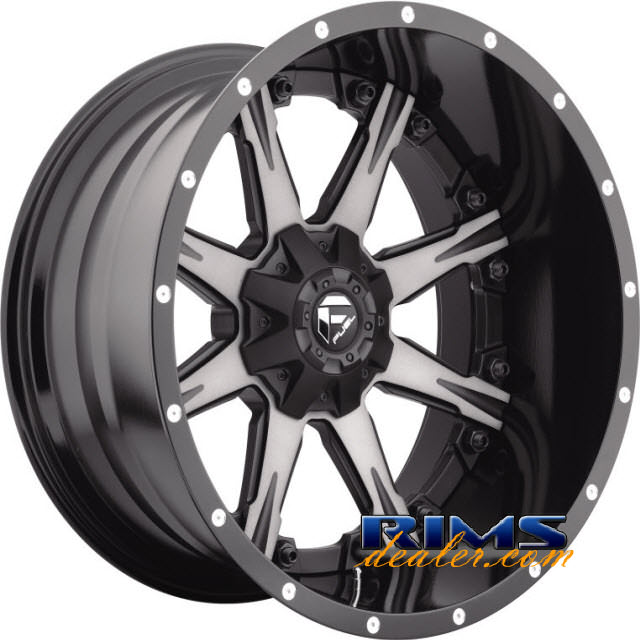 Pictures for Fuel Off-Road NUTZ black flat