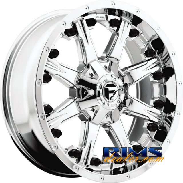 Pictures for Fuel Off-Road NUTZ chrome