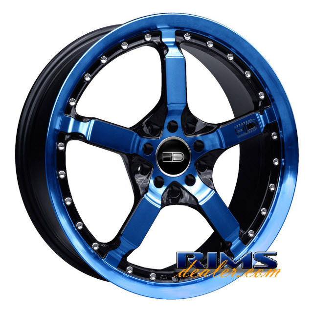 Pictures for HD Wheels Cool Down blue