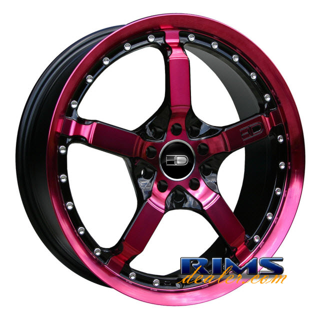 Pictures for HD Wheels Cool Down pink