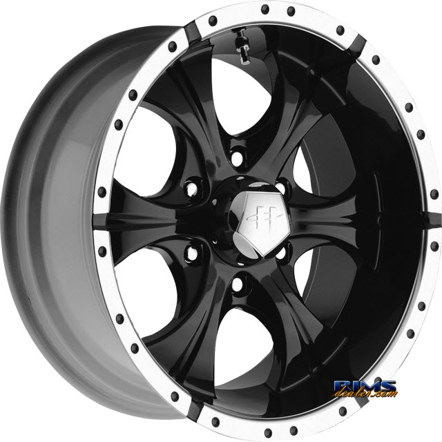 Pictures for HELO HE791 Maxx Black Gloss w/ Machined