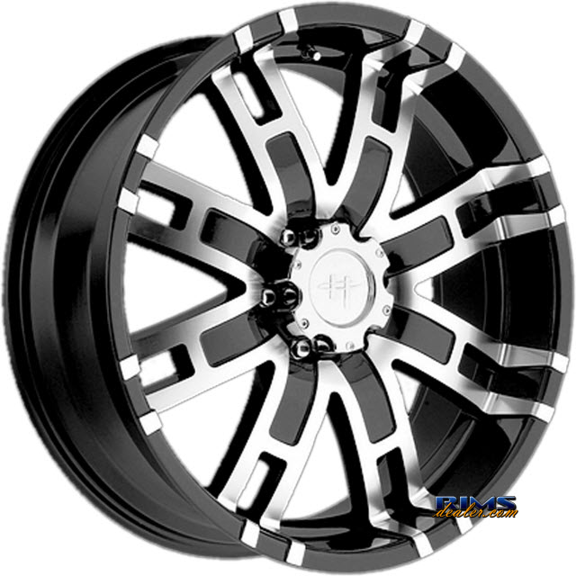 Pictures for HELO HE835 Black Gloss w/ Machined