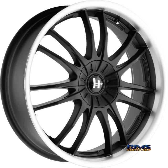 Pictures for HELO HE845 Black Gloss w/ Machined