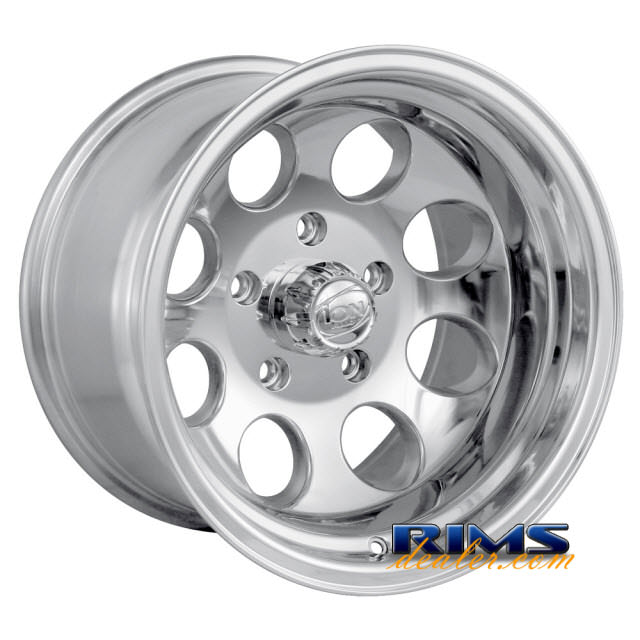 Pictures for Ion Alloy Wheels 171 off-road polished