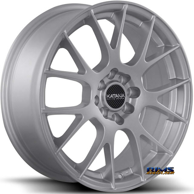 Pictures for KATANA WHEELS KR13 Silver Gloss