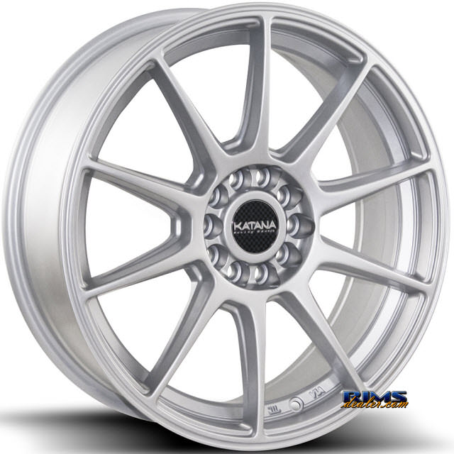 Pictures for KATANA WHEELS KR14 Silver Gloss
