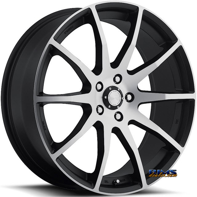 Pictures for KATANA WHEELS RC14 Machined w/ Black