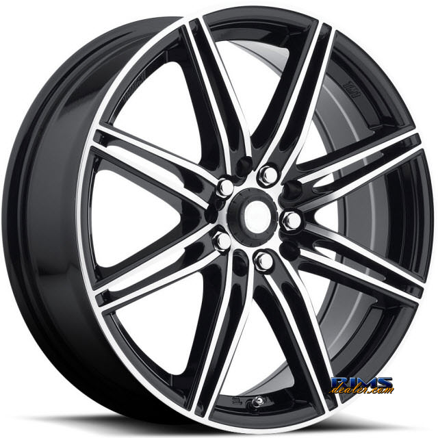 Pictures for KATANA WHEELS TM1 Machined w/ Black