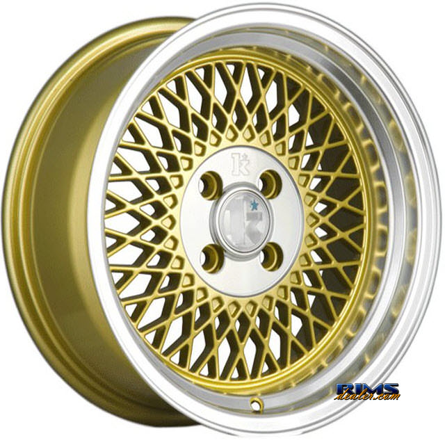 Pictures for Klutch Wheels SL1 Machined w/ Gold