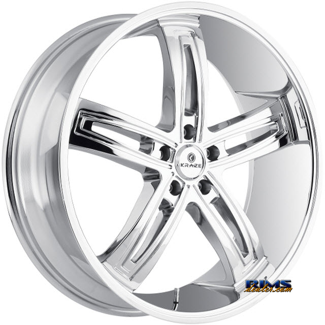Pictures for Kraze Wheels Kraze-412 Ravish Chrome