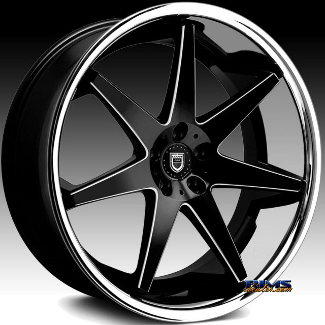 Pictures for LEXANI R-17 - Milled black gloss