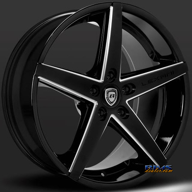 Pictures for LEXANI R-FOUR (Exposed Lugs) black gloss