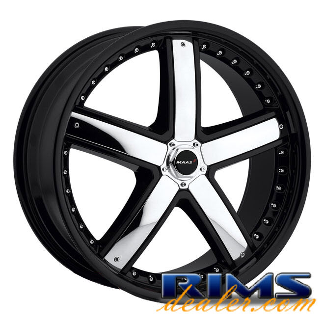 Pictures for MAAS 028B -M28 black w/ chrome cap