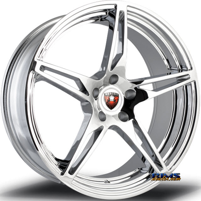 Pictures for MERCELI Wheels M53 chrome