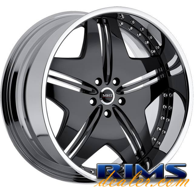 Pictures for MHT Forged EXCESS black gloss