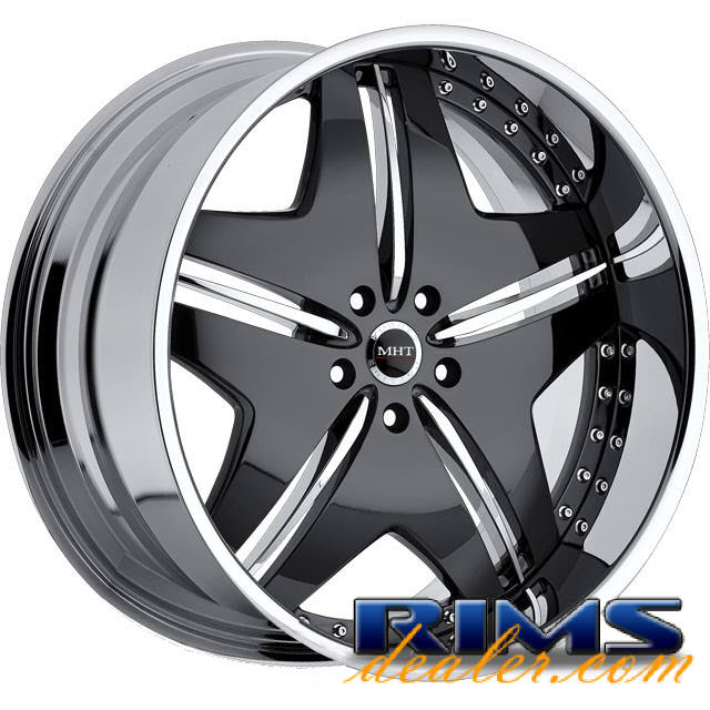 Pictures for MHT Forged EXCESS black w/ chrome cap