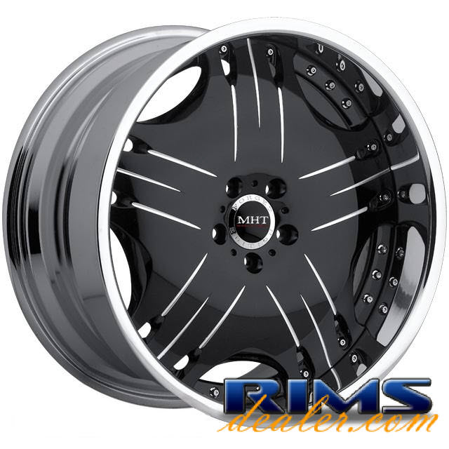 Pictures for MHT Forged LINEA black gloss
