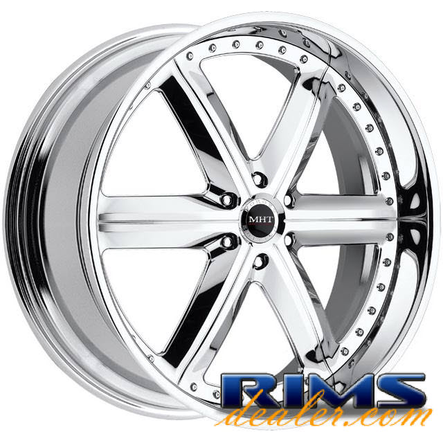Pictures for MHT Forged MONTAGE (6-LUG) chrome