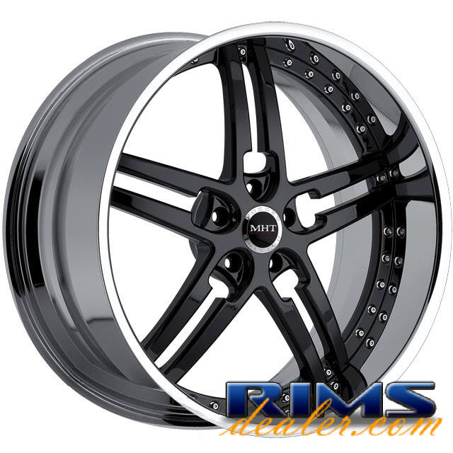 Pictures for MHT Forged PARAGON black gloss