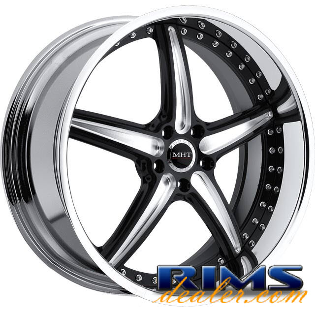 Pictures for MHT Forged SPRINT machined w/ black