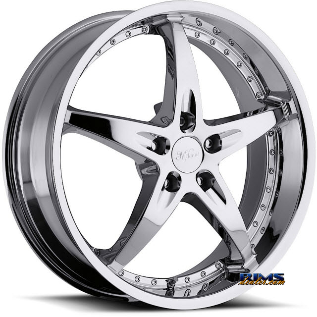 Pictures for Vision Wheel Milanni ZS-1 453 chrome