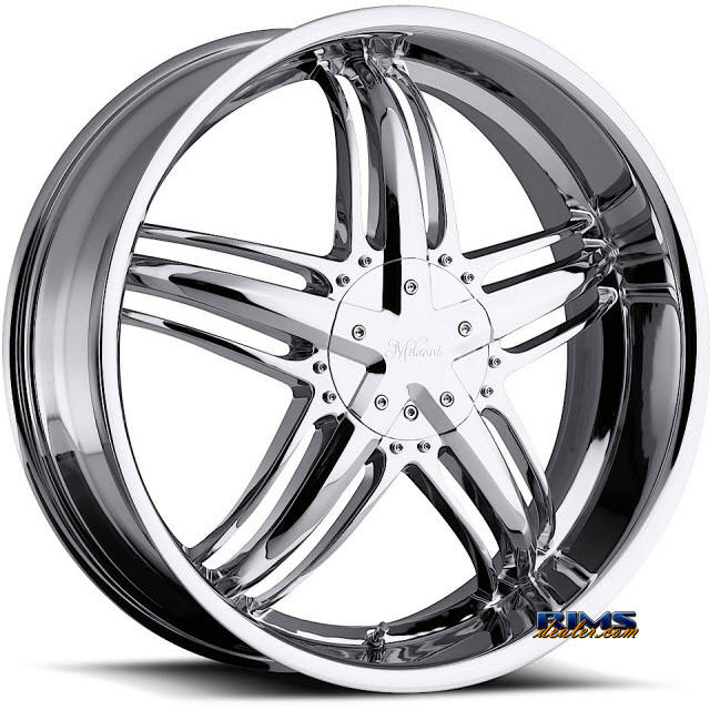 Pictures for Vision Wheel Milanni Force 457 chrome