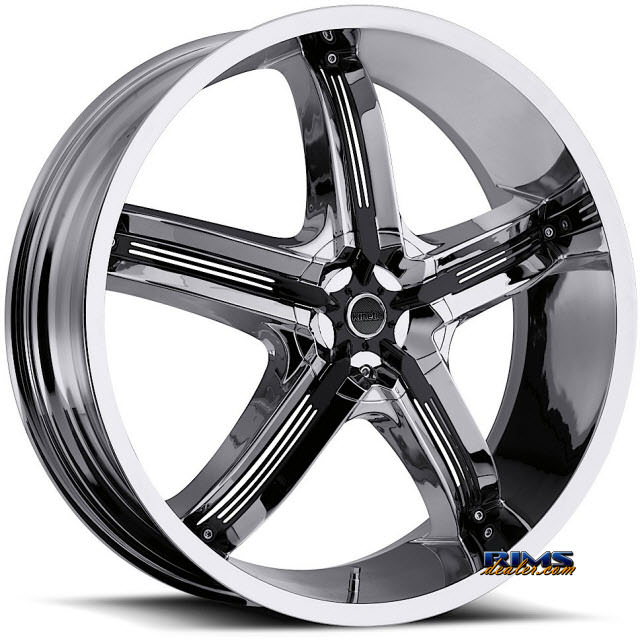 Pictures for Vision Wheel Milanni Bel-Air 5 459 chrome