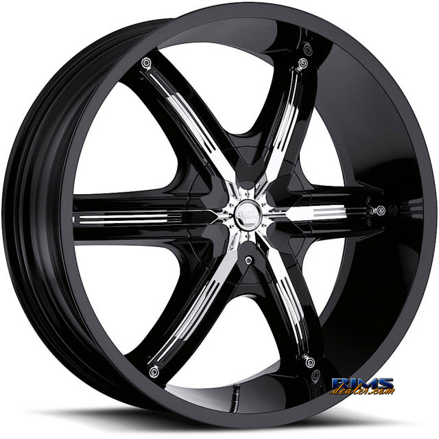 Pictures for Vision Wheel Milanni Bel-Air 6 460 black flat