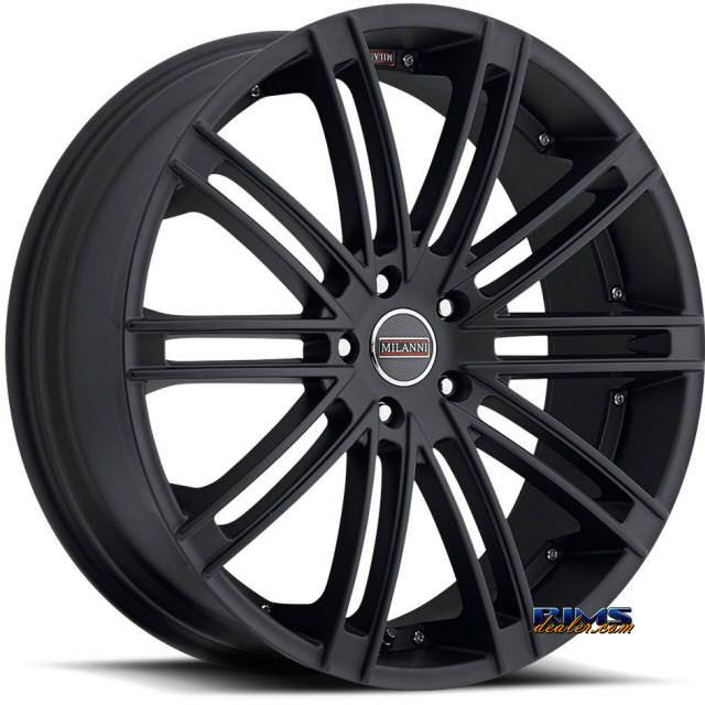 Pictures for Vision Wheel Milanni Khan 9032 satin black