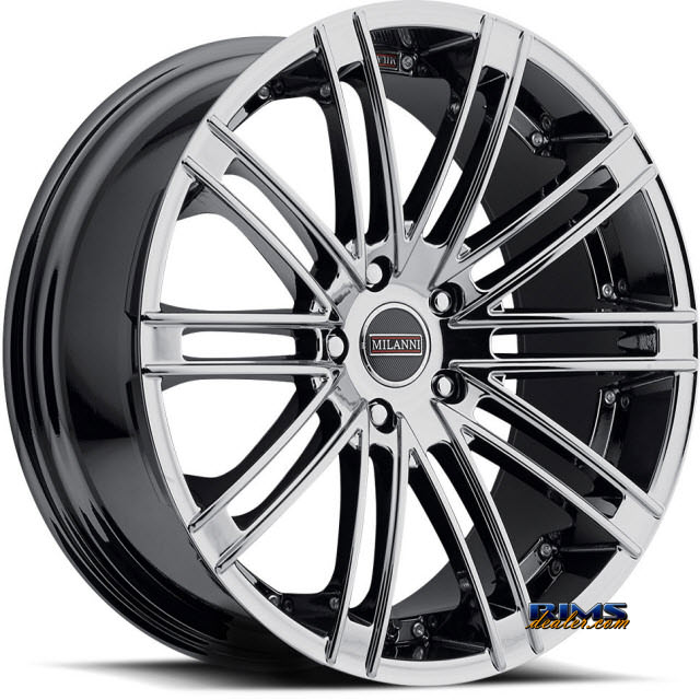 Pictures for Vision Wheel Milanni Khan 9032 chrome